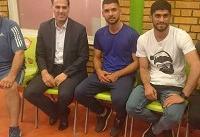 بازیکنان سرباز ذوب آهن به اصفهان برگشتند