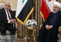 نخستوزیر عراق با روحانی دیدار کرد