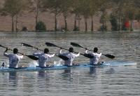 دور پایانی اردوی قایقرانی آبهای آرام مردان برگزار میشود