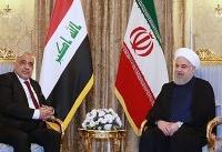 روحانی با نخست وزیر عراق دیدار و گفتگو کرد