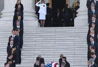 President Trump, Supreme Court justices pay respects to late Associate Justice John Paul Stevens