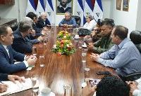 ارائه دعوت نامه لاریجانی به رییس مجلس ملی نیکاراگوئه از سوی ظریف