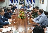 ظریف با رئیس مجلس ملی نیکاراگوا دیدار و گفتگو کرد