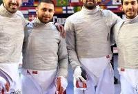 ششمی سابر تیمی ایران در رنکینگ جدید فدراسیون جهانی