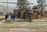 امدادرسانی به افراد گرفتار در آتشسوزی جنگلهای بلوط