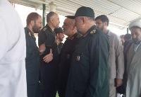 فرمانده کل سپاه پاسداران انقلاب اسلامی وارد لرستان شد