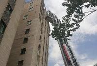 آتشسوزی در ساختمان ۱۰ طبقه/ضرورت نصب دستگاه اطفاء حریق در برجها