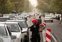 افزایش موقتی غلظت برخی آلایندههای هوا در مناطق پرتردد پایتخت
