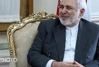 دیدار ظریف با رییس جمهورفرانسه در روز جمعه