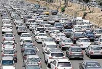 ترافیک صبحگاهی در غرب به شرق همت و حکیم/ترافیک سنگین در چمران