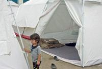 ۱۰۰۰ نفر در مسجدسلیمان به صورت اضطراری در چادرها اسکان یافتند