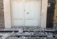تخریب بیش از ۵۰درصدی هشت خانه در پی زلزله مسجد سلیمان