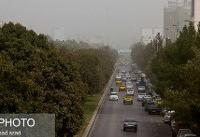 هوای غبارآلود در چند استان طی ۵ روز آینده