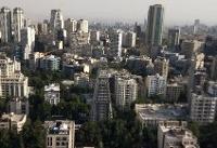 سراشیبی بازار مسکن در ۹ منطقه از تهران