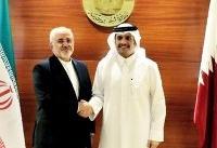 ظریف: روابط ایران-قطر در همه زمینهها رو به رشد است/ امنیت خلیج فارس مسئولیت کشورهای منطقه است
