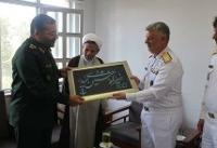 دریادار خانزادی با رئیس سازمان بسیج مستضعفان دیدار کرد
