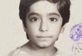 رضا شفیعی جم وقتی کودک بود +عکس