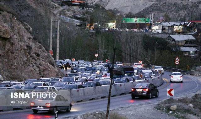 ترافیک نیمه سنگین در مسیرهای شمالی استان تهران