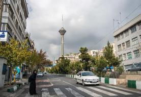 وضعیت کیفیت هوای پایتخت همزمان با پایان هفته