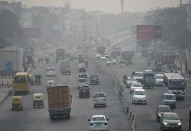 برابری مضرات آلودگی هوا در شهرها با مصرف روزانه ۲۰ نخ سیگار
