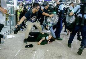 بازگشایی فرودگاه هنگ کنگ؛ چین کار معترضان را شبیه تروریستها خواند