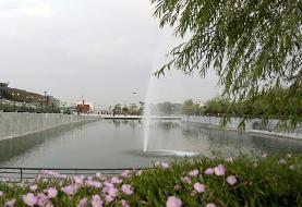 (تصاویر) ایجاد دریاچه جدید در تهران!