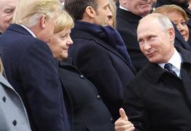 مرکل: روسیه مسئول فروپاشی پیمان منع موشک های هسته ای میان برد و کوتاه برد است.