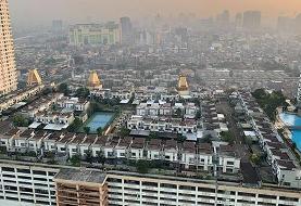 شهرهای کوچک روی بام ساختمانهای بزرگ جاکارتا (+عکس)
