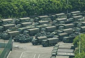 Chinese military personnel parade near Hong Kong border: Report