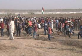 Israeli forces attack Palestinian protesters in Gaza