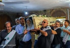 تصاویر | پیکر پدر طبیعت ایران به خاک سپرده شد