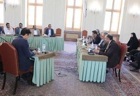 نشست سهجانبه ایران، انصارالله یمن و سفرای ۴ کشور اروپایی در تهران