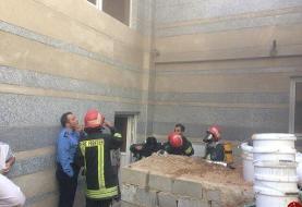 وقوع حریق در بیمارستان تامین اجتماعی شیراز