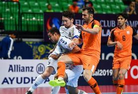 شکست تیم مس ایران مقابل ناگویا ژاپن در نیمه نخست