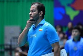 مشاور فنی تیم ملی والیبال بانوان: به این تیم افتخار میکنم