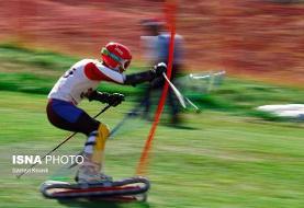 مدال نقره نماینده اسکی روی چمن ایران در جام جهانی دیزین