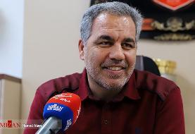 جلسه عرب با مسئولان شرکت تجهیز و توسعه برای فروش بلیت بازیهای پرسپولیس