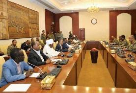 تعیین اعضای نظامی و غیرنظامی شورای حاکمیتی سودان