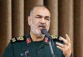 سرلشکر سلامی: آمریکا همه قدرت خود را برای مقابله با ایران بهکار گرفته است