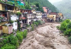 ۳۰ کشته در بارشهای سیل آسا در شمال هند