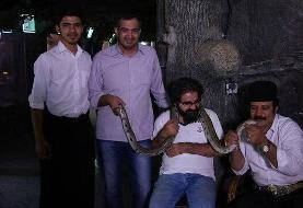 مستندی از سلطان مارها در ایران