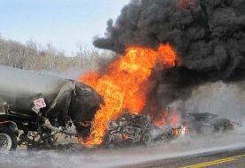 ۱۰ کشته در حادثه حریق تانکر سوخت در اوگاندا