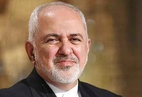 دیدار ظریف با رییس جمهور فرانسه در روز جمعه