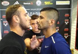 مبارزه الهامی برابر رقیبی از  بلاروس در مسابقات MMA