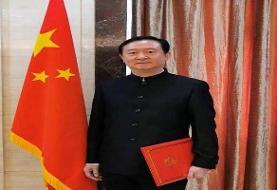 تعریف و تمجید سفیر چین از حامد حدادی