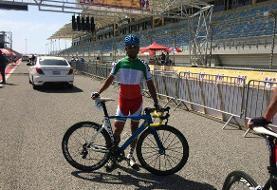 گنجخانلو در مرحله اول تور دوچرخه سواری اندونزی دهم شد