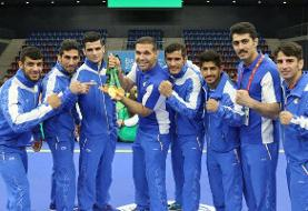 ووشوکاران ایران موفق به کسب یک طلا و ۳ برنز شدند