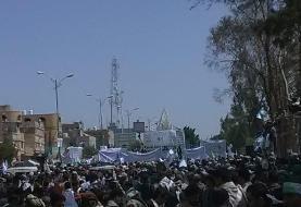 هزاران تن از مردم یمن در مراسم عید غدیر شرکت کردند
