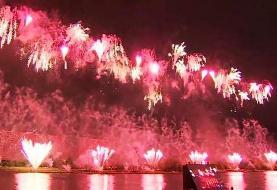 Russia: International firework festival lights up Moscow skyline