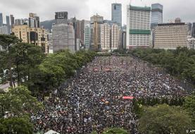 تظاهرات یک میلیون نفری هنگکنگیها علیه چین
